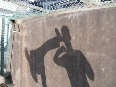 shadow kickboxing