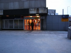 Rotterdam CS side entrance